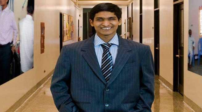 एक नेत्रहीन युवक, अंथक मेहनत, कंपनी का मालिक, श्रीकांत बोलांत , Blind Youth, Hard work, owner of company, Shrikant Bolant