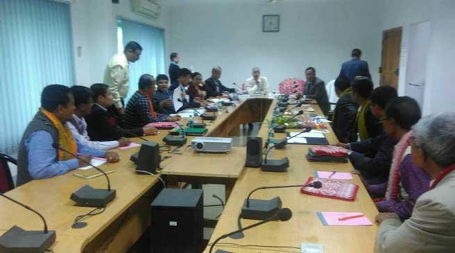 सरकार के साथ बोड़ो संगठनों की त्रिपक्षीय बैठक
