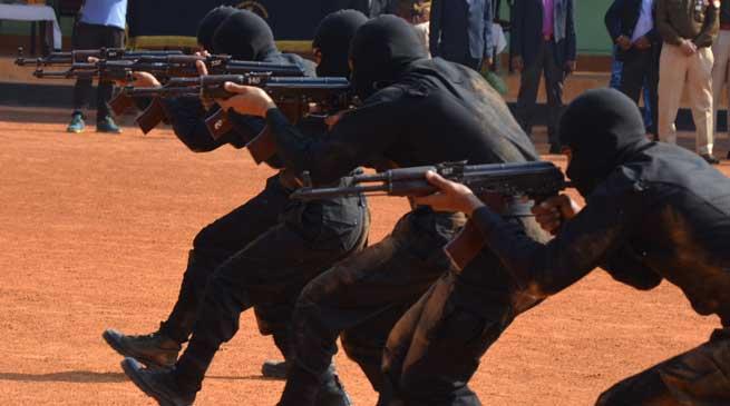 DGP ने किया Counter insurgency and Jungle Warfare प्रशिक्षण विद्यालय का निरीक्षण
