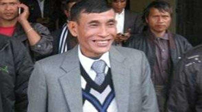 मेघालय के विधायक जूलियस डोरफांग गिरफ्तार