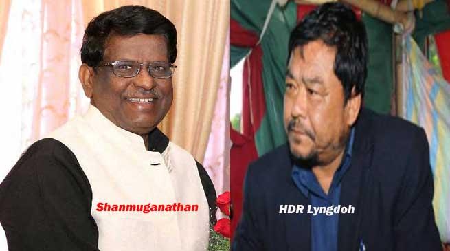 षणमुगनाथन पर लगे आरोप की जांच नहीं और मेघालय के गृह मंत्री का इस्तीफा देने से इनकार