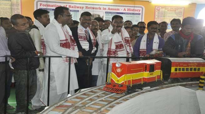 बिहू पर प्रदर्शनी में पूसी रेलवे ने लिया हिस्सा