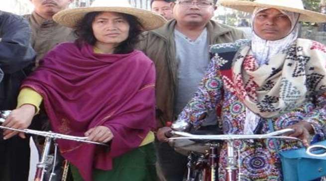 मणिपुर विधान सभा चुनाव- नाज़ीमा बीबी पहली मुस्लिम महिला उमीदवार