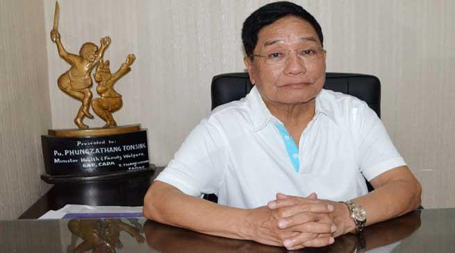 मणिपुर में चुनावी हलचल- फुंगजाथंग तोनसिंग ने कांग्रेस छोड़ा