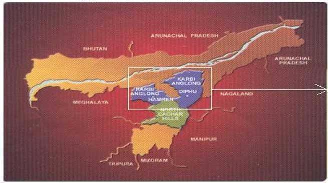 हिंदीभाषी,बंगाली कार्बी आंगलांग छोड़े