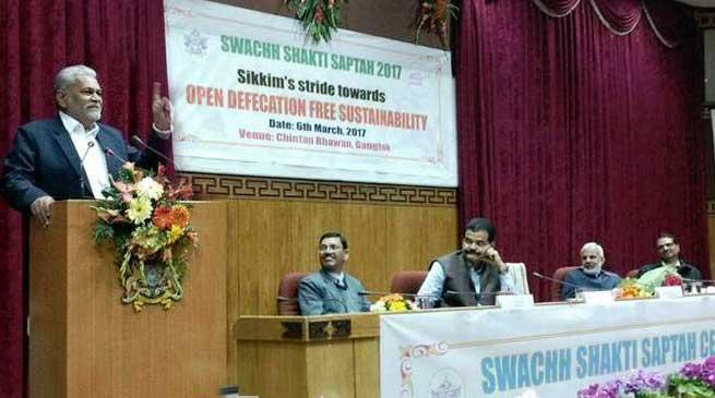 सिक्किम भारत का पहला खुला शौचमुक्त राज्य घोषित