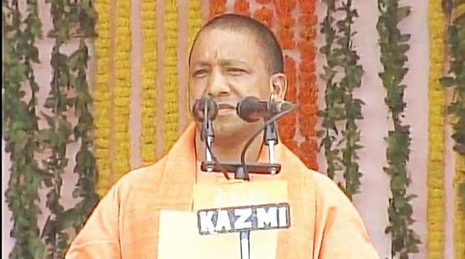 UP- आदित्यनाथ योगी ने लिया मुख्य मंत्री का शपथ