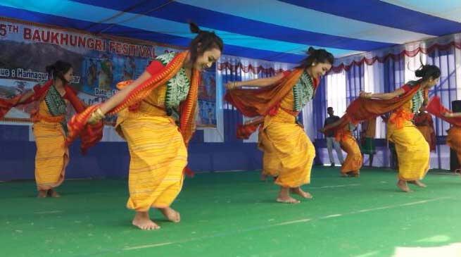 रंगाली बिहू के मौके पर बौखुनग्री महोत्सव