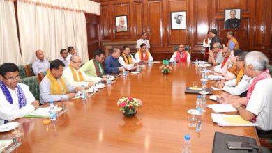 Photo of आब्सू के साथ त्रिपक्षीय वार्ता,राजनाथ सिंह ने जताई सभी जनसमुदायों के विकास की प्रतिबद्धता