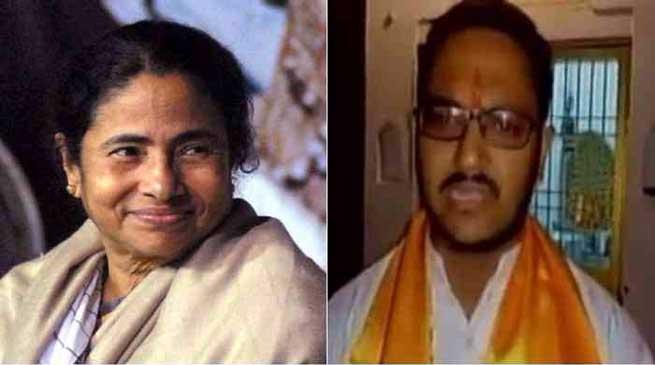 बीजेपी नेता का ब्यान, ममता का सिर काट कर लाओ और 11 लाख रुपए ले जाओ