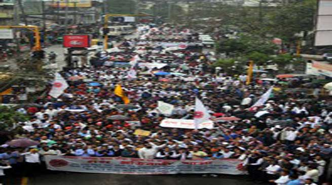 आसू समेत 28 जातीय संगठनों की विशाल रैली