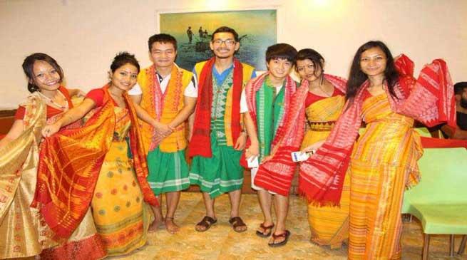 बोड़ो समुदाय ने चेन्नई में मनाया रंगाली बिहू