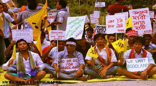 अलग बोड़ोलैंड, त्रिपक्षीय वार्ता को तैयार केंद्र
