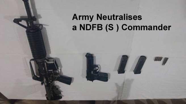 सेना-पुलिस का अभियान, एक NDFB(S) उग्रवादी ढेर