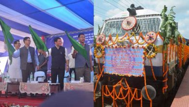 Photo of रेल मंत्री ने दिखाई नाहरलागुन और गुवाहाटी के बीच नई शताब्दी ट्रेन को हरी झंडी