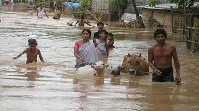 बाढ़ से सुरक्षा के उठाए ऐहतियाती कदम – सोनोवाल