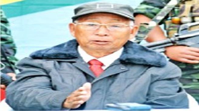 नगा बागी नेता एसएस खापलांग का म्यांमार में निधन