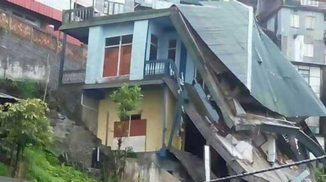 मिज़ोरम में बारिश ने मचाई तबाही, 8 लोगों की मौत