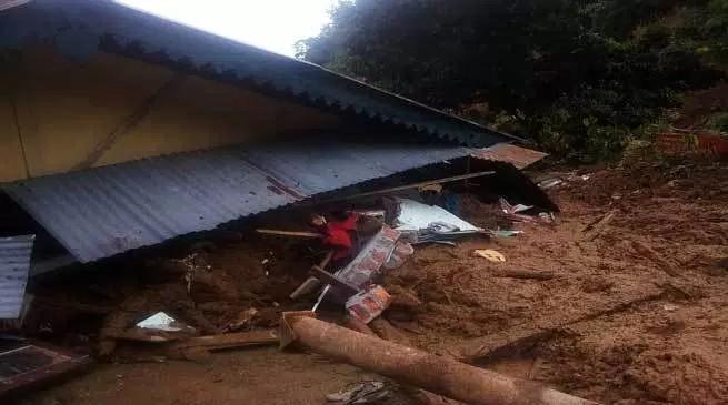 अरुणाचल प्रदेश में भूस्खलन से मची तबाही