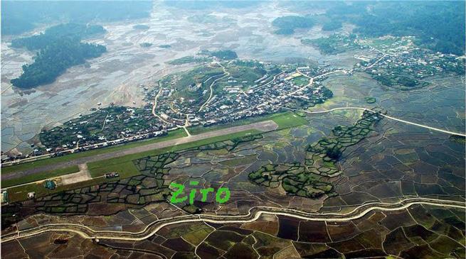 चीन के पर्यटन मानचित्र में टूरिस्ट स्पॉट जिरो