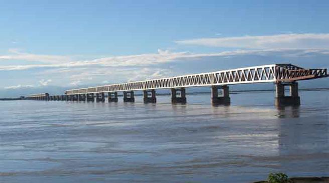 25 दिसंबर 2017 को होगा बोगीबील पुल का उद्घाटन