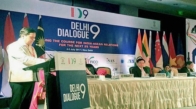 भारत-आसियान देशों के संवाद में सोनोवाल शामिल