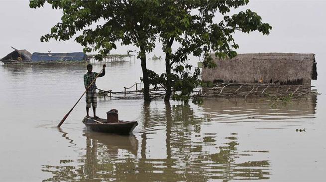 मोदी ने दिया बाढ़ प्रभावित असम को मदद का भरोसा
