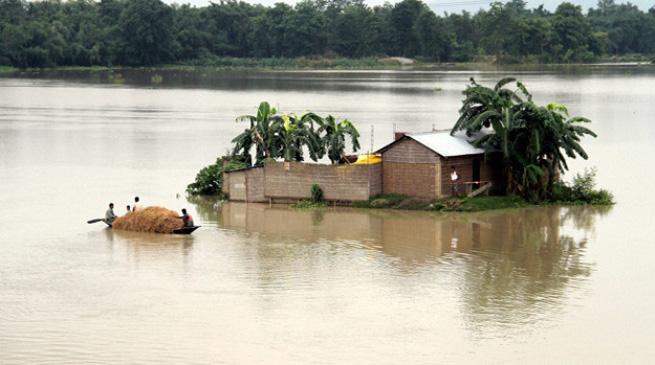 अगले दो दिनों में पूर्वोत्तर में भारी बरसात