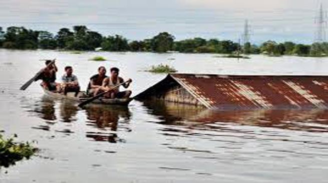 असम की बाढ़ पर भी चीन की नजर