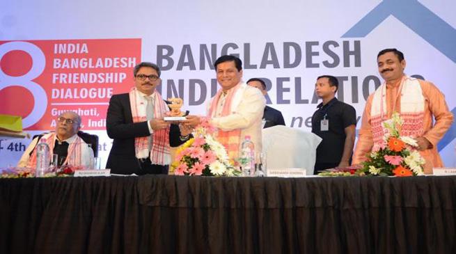 गुवाहाटी में भारत-बांग्लादेश मैत्री वार्ता