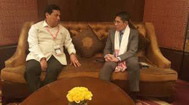 सिंगापुर के विदेश मामलों के मंत्री का असम दौरा