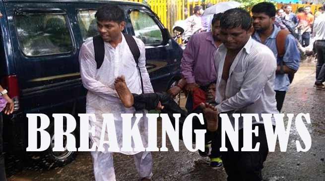 मुंबई केएलफिंस्टन रेलवे स्टेशन में भगदड़, 25 की मौत