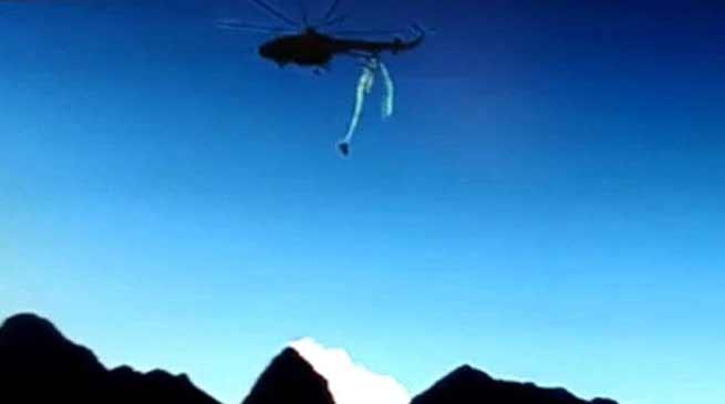 अरुणाचल में क्रैश हुए वायु सेना का हेलिकॉप्टर का विडियो हुआ वायरल