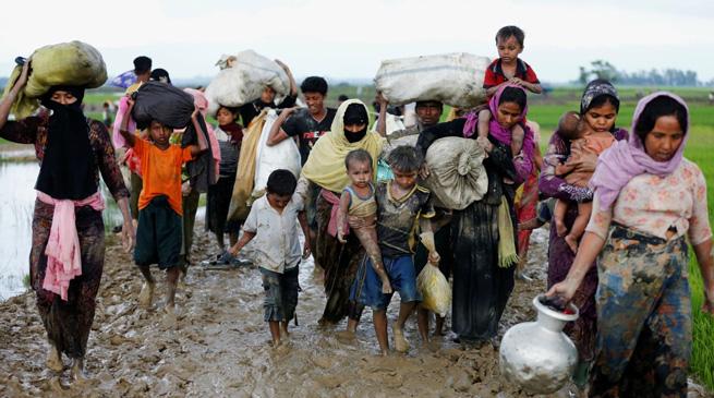 असम - रोहिंग्या शरणार्थियों के प्रवेश की आशंका