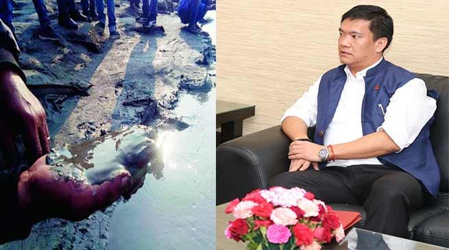सियांग नदी का पानी मटमैला होने का कारण चीन में ही है- खांडू