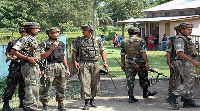 सुरक्षा कर्मियों ने मुठभेड़ में एक उल्फा (स्वाधीन) कैडर को मार गिराया