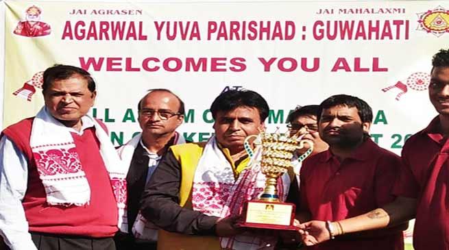 महाराजा अग्रसेन क्रिकेट टूर्नामेंट: टीम विष्णु ने किया ट्राफी पर कब्ज़ा