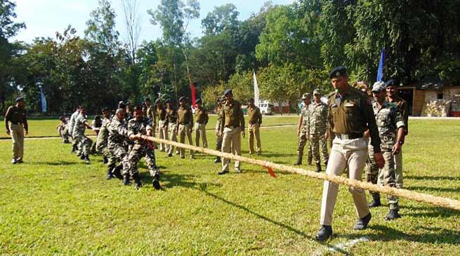 कोकराझाड़ में सशस्त्र सीमा बल ने मनाया 54वां स्थापना दिवस