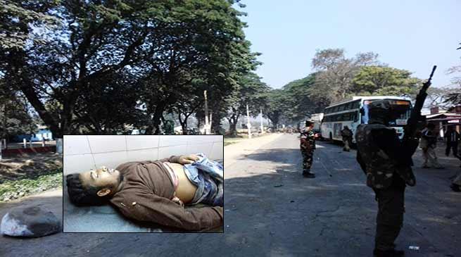असम: धुला में हिंसा प्रदर्शन, लाठी चार्ज, पुलिस फईरिंग, 1 की मौत, 3 घायल, इलाके में कर्फ्यू