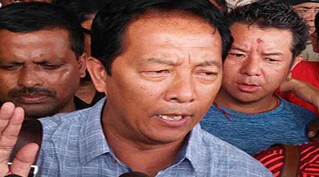 विनय तमांग का सिक्किम सरकार को चेतावनी- दार्जिलिंग मामलों में हस्तछेप न करें
