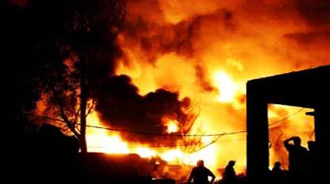 नागालैंड: चुनाव से पहले भड़की हिंसा, भीड़ ने संपत्ती किया आग के हवाले