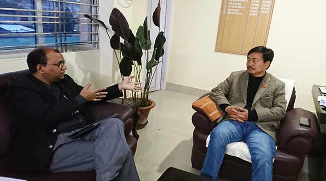 अरुणाचल में 2019 के चुनाव में बीजेपी पूरे 60 सीटों पर कब्ज़ा करेगी- तापिर गाव का दावा