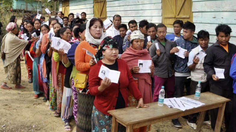 मेघालय, नागालैंड चुनाव: विस्फोट के बीच चुनाव जारी