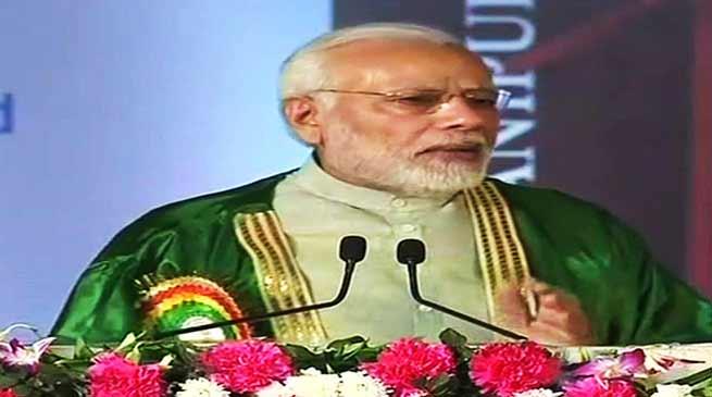 मणिपुर: Indian Science Congress में पी एम मोदी बोले- विज्ञान का मतलब जिंदगी को बेहतर करना है