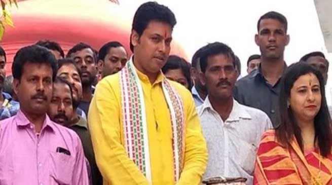 त्रिपुरा : मुख्यमंत्री बिप्लब कुमार देब लगाएंगे जनता दरबार