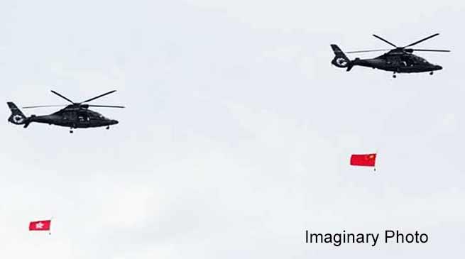 भारत के एयर स्पेस में घुसा चीन का हेलिकॉप्टर- एक महीने में चार बार