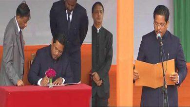 Photo of मेघालय: एनपीपी के कोनराड संगमा ने सीएम पद की शपथ ली