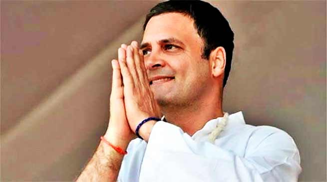 चुनावी नतीजों के 48 घंटे बाद राहुल गांधी ने ट्वीट कर कहा जनादेश का स्वागत करते हैं