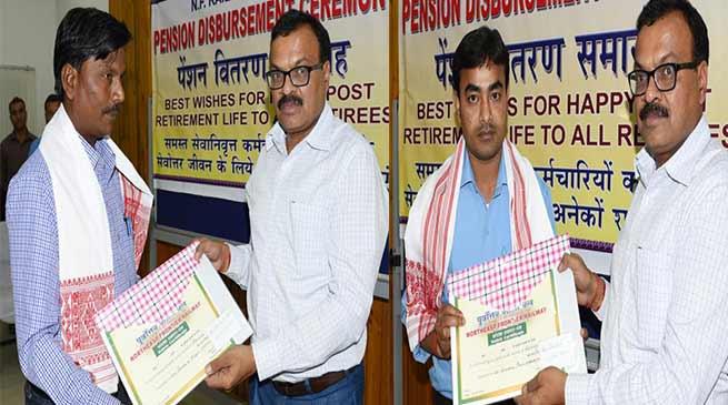 असम: पू.सी. रेलवे ने चार कर्मचारियों को किया पुरस्कृत