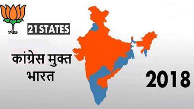 Photo of कांग्रेस मुक्त भारत की दिशा में बीजेपी एक क़दम और आगे…?